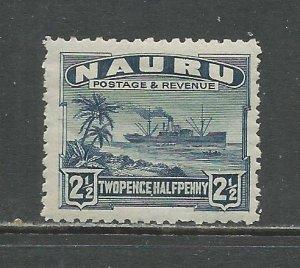 Nauru # 21a Unused HR