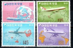 Korea #C39-42  MNH CV $50.50 (X9768)
