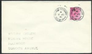 GB SCOTLAND 1971 cover BAYHEAD. STORNOWAY / ISLE OF LEWIS cds..............66595