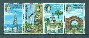 St. Kitts & Nevis sc# 145-160 mh cat value $22.00