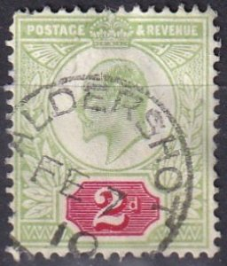 Great Britain #130 F-VF Used CV $22.50 (Z3937)