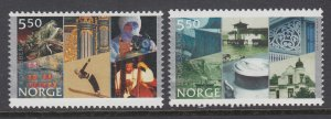 Norway 1334-1335 MNH VF