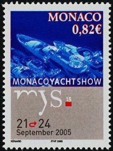 Monaco 2384 MNH Monaco Yacht Show