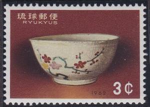 Ryukyu Islands 103 MNH (1962)