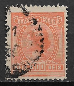 1918 Brazil 205 Libety Head 300 reis used.