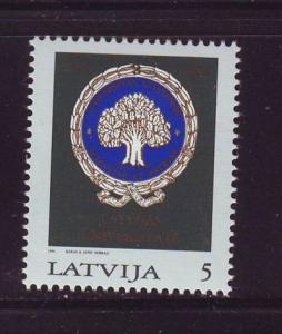 Latvia Sc 378 1994 Univ of Latvia stamp mint NH