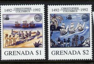 Grenada 2071-2 MNH Christopher Columbus, Ships
