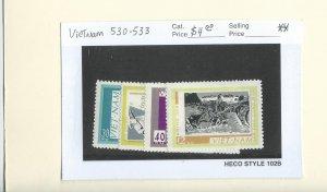 Vietnam 530-533  MNH