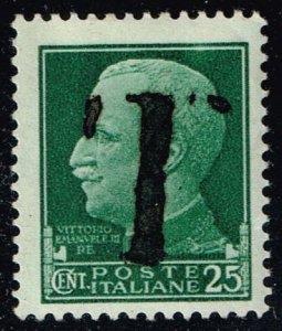 Italy #218 Overprinted as Postage Due T; Unused (2Stars)