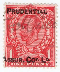 (I.B) George V Commercial Overprint : Prudential Assurance (Downey Head)