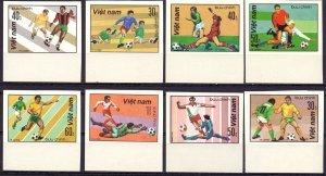 Vietnam. 1982. 1214U-21U. Football. MNH.