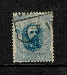 Norway SC# 33, Used - S9211