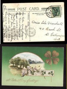 Canada #1973b - 1c Edward-Peel Cnty-Brampton,Ont cds-Mr 3 1909-