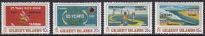 Gilbert  Islands 313-316 King George V School 1978