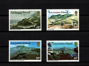 ASCENSION - 1981 - QE II - GREEN MOUNTAIN FARM - TWO BOATS FARMS - MINT MNH SET!