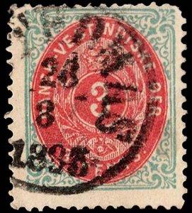Danish West Indies Scott 6a Used.