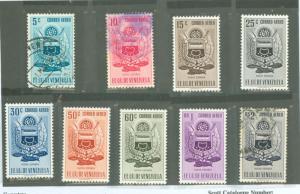 Venezuela C536-C544 Mint VF H