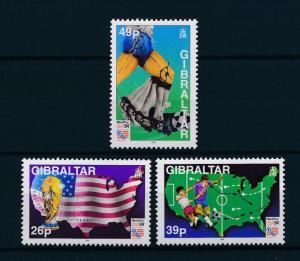 [59562] Gibraltar 1994 World Cup Soccer Football USA MNH