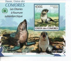 Comoro Islands 2009 seals MNH .