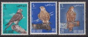 Abu Dhabi 1965 SC 12-14 MNH