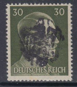 Germany Soviet Zone SBZ - LOCAL DEHLES 30Pf HITLER head - Expertized Valicek