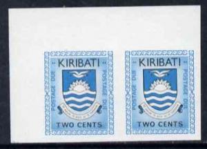 Kiribati 1981 Postage Due 1981 2c black & greenish-bl...