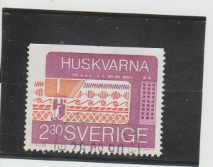 Sweden  Scott#  1757  Used  (1989 Sewing Machine)