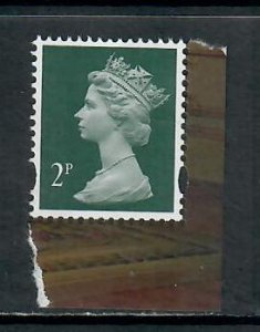 GB 2017 2p MACHIN CODE MPIL SG U3011c FROM PRESTIGE BOOK DY 20 MINT NEVER HINGED