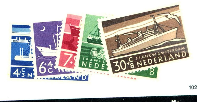 Netherlands #B306-10 MINT VF NH Cat$15