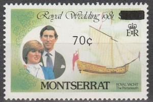Montserrat #509 MNH F-VF  (SU4527)