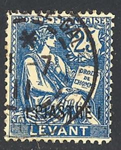 French Levant  #29 Used VF  -  LSP