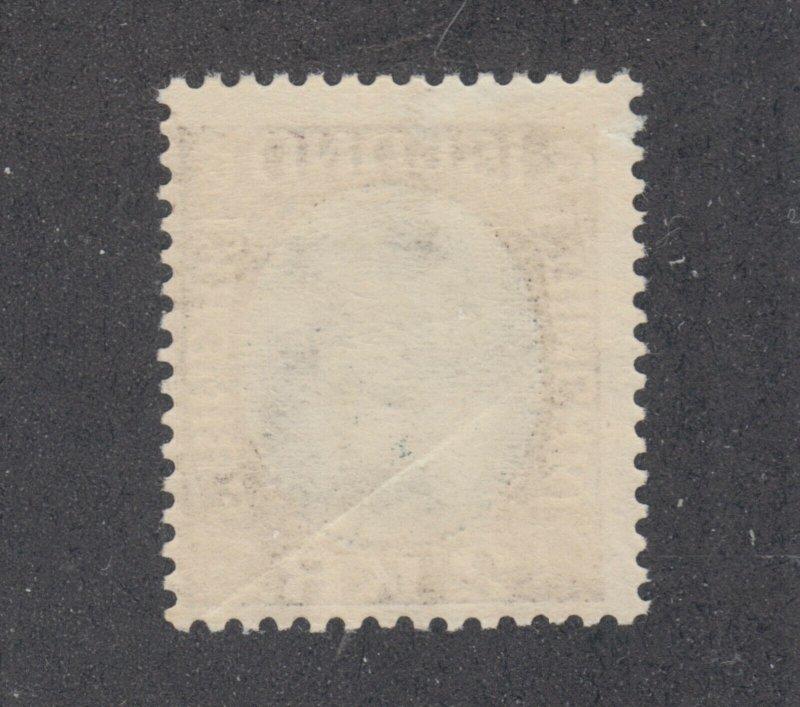 Iceland Sc 127 MLH. 1920 2kr King Christian X, small gum crease, fresh & bright