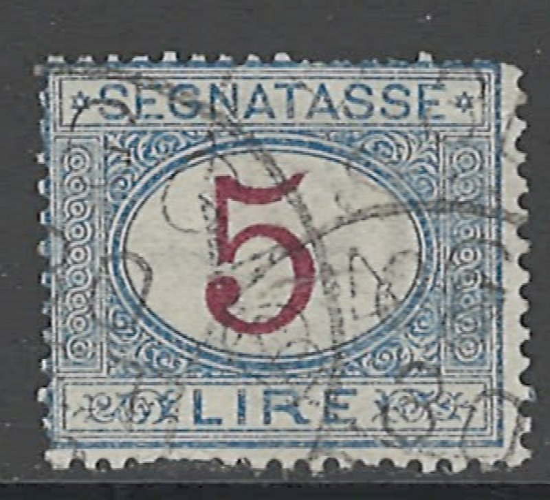 COLLECTION LOT # 2882 ITALY #J18 1903 CV=$55 LIGHT FAULTY