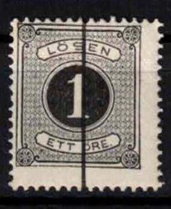 Sweden - SGD27a - 1 ö Postage due perf.13 - CV 4£