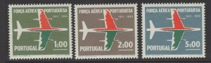 PORTUGAL SG1279/81 1965 50th ANNIV OF PORTUGUESE AIR FORCE MNH