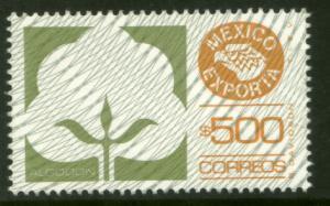 MEXICO Exporta 1138 $500P Cotton Fosfo Paper 7 MNH. VF.
