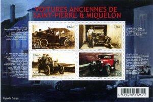 Scott #1001 Vintage Autos S/S MNH