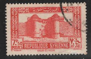 Syria Scott 280 Used stamp