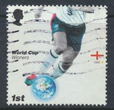 Great Britain SG 2628 SC# 2372 World Cup Football Used  see scan