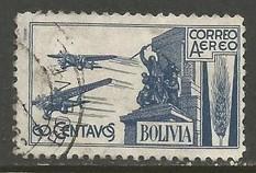 BOLIVIA C67 VFU N823-21
