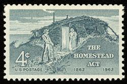 1198 The Homestead Act F-VF MNH single