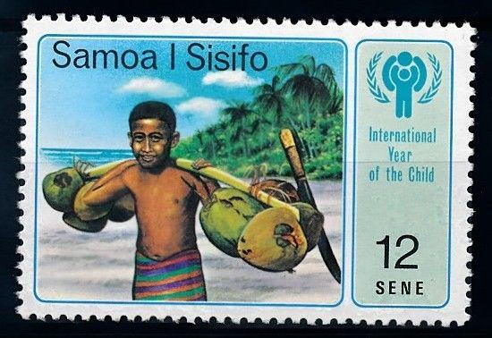 [65222] Samoa 1979 Flora Fruit Fruchte Coconuts From Set MNH
