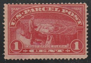 USA #Q1 Mint Hinged Single Stamp cv $5