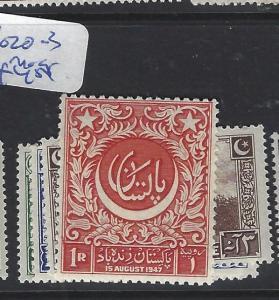 PAKISTAN  (P2412B)  SG 20-3   MOG