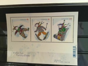 Canada mint never hinged  stamps sheet R21715