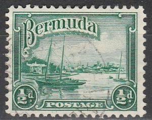 Bermuda #105  F-VF Used  (S2311)