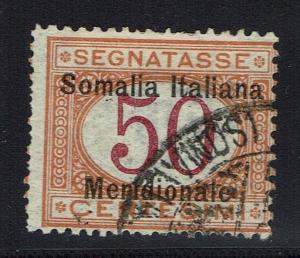Somalia SC# J6, Used -  Lot 011816
