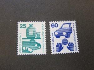 Germany 1971 Sc 9n319,23 MNH