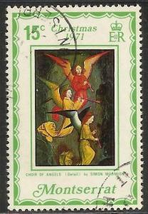 Montserrat 1971 Scott# 265 Used