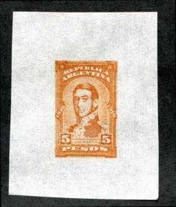 ARGENTINA MINKUS 209 COLOR PROOF India Paper San Martin